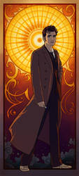 The 10th Doctor by tamiart