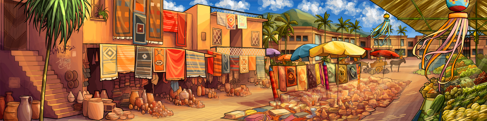 Market Place by tamiart