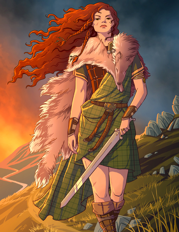 140a79746 Boudicca by tamiart on DeviantArt