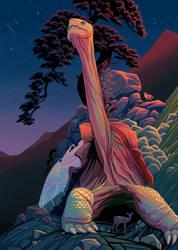 Tortoise Mountain by tamiart