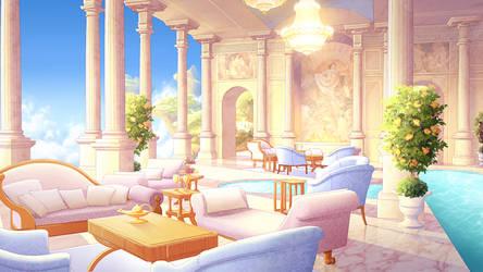 Olympus Living Room by tamiart