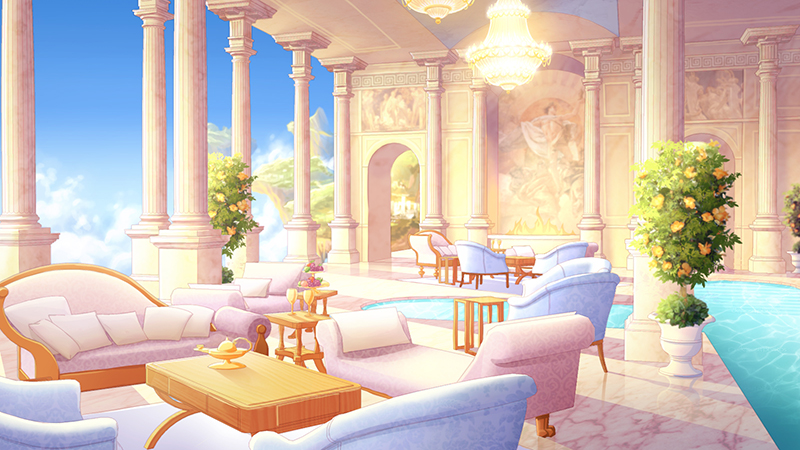 Olympus Living Room by tamiart