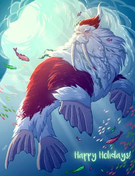 Walrus Claus