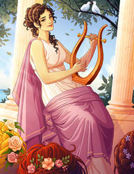 Sappho by tamiart