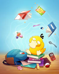 Psyduck by tamiart
