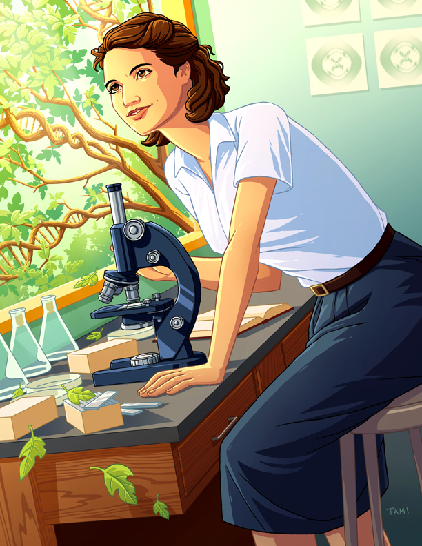 Rosalind Franklin by tamiart