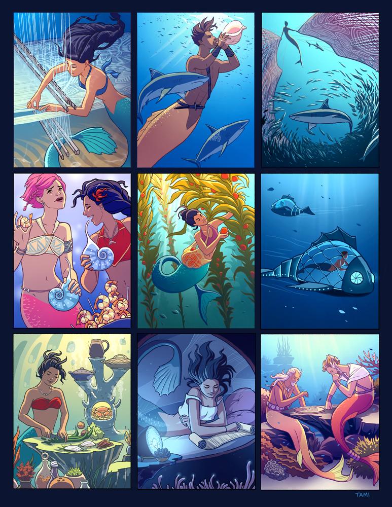 Mermaid Culture by tamiart