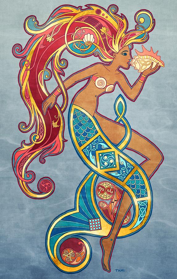 Ancient Mermaid by tamiart