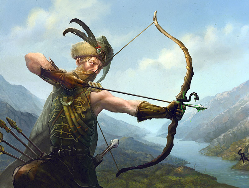 Highlander Archer by CG-Zander