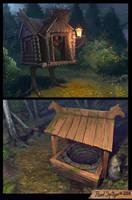 Magic places by CG-Zander