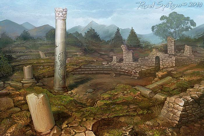 Ruins by CG-Zander