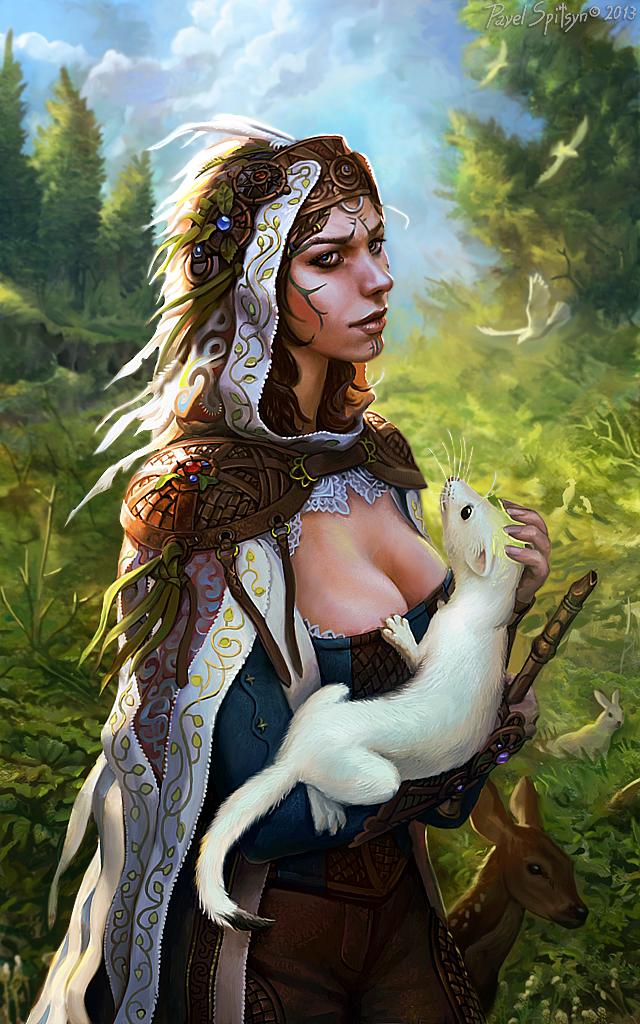 Lady with an Ermine by CG-Zander