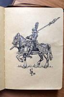 Nilfgaard knight by CG-Zander