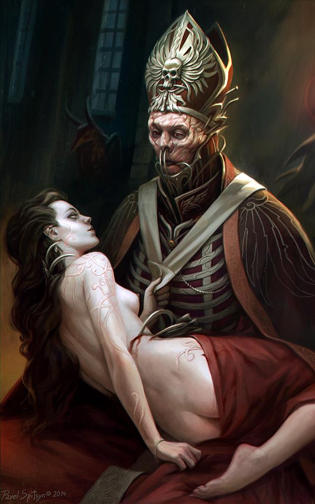 Imperial priest by CG-Zander