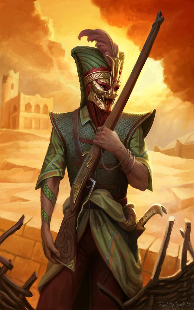 Viper Janissary by CG-Zander