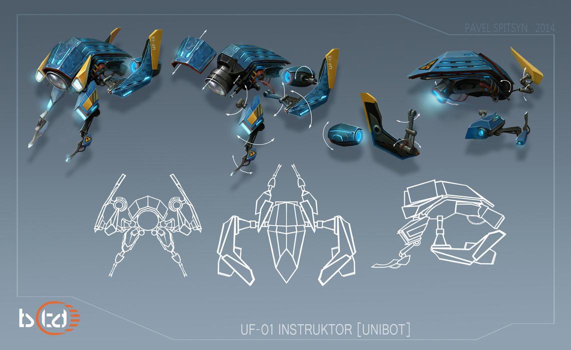 UF-01_Instruktor [Unibot] by CG-Zander
