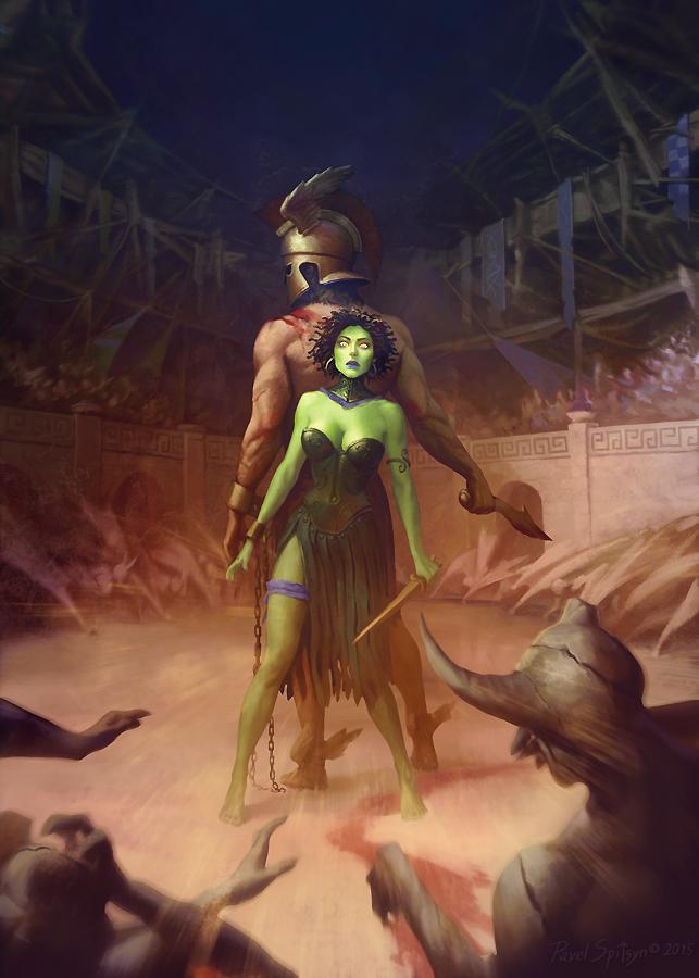 Perseus and Gorgon by CG-Zander