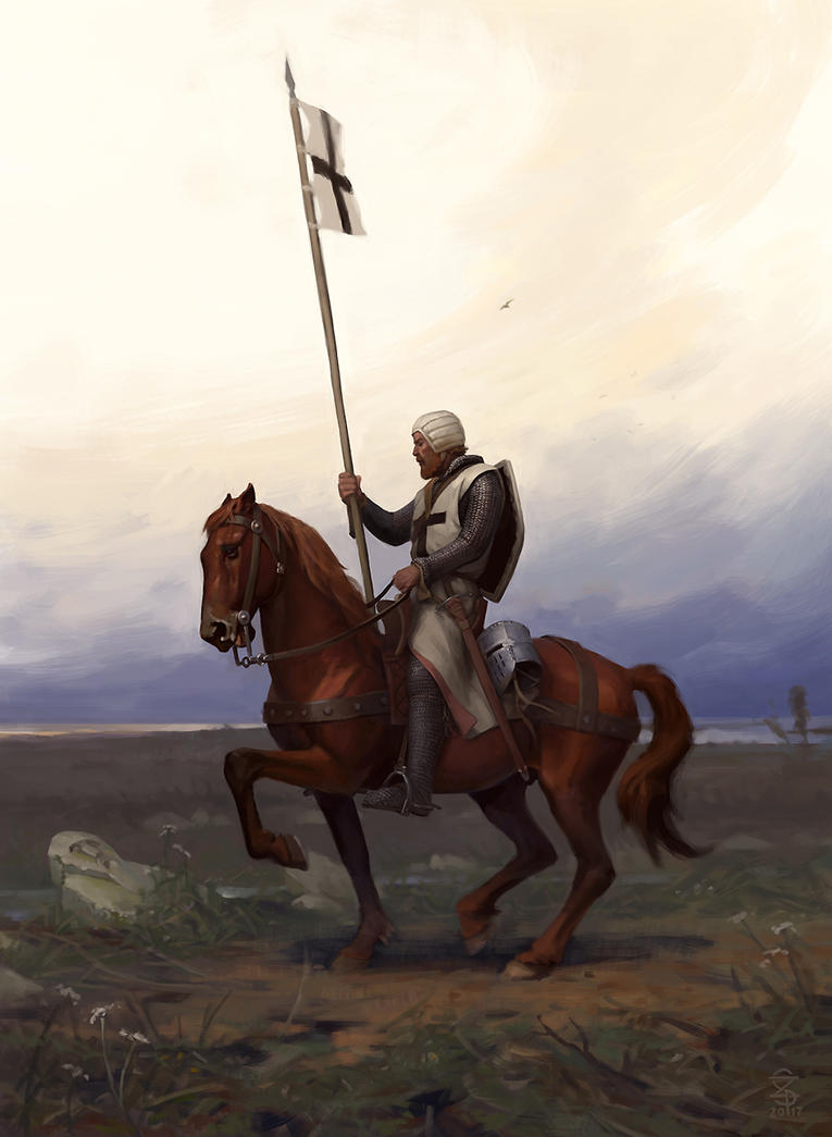 Lonely crusader by CG-Zander