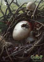 Harpy Egg - Gwent Card by CG-Zander