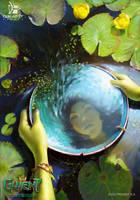 Water of Brokilon - Gwent Card by CG-Zander
