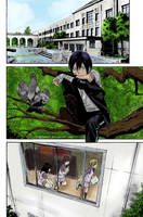 Yato is watching . . . by Ivaa-Chan1