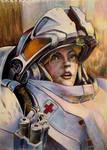 StarCraft Medic Portrait by SpaghettyArt