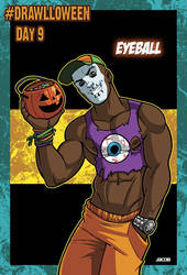 Drawlloween Day 9: Eyeball! by jacobmott