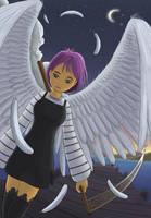 Petit ange de la mort ... by neiba