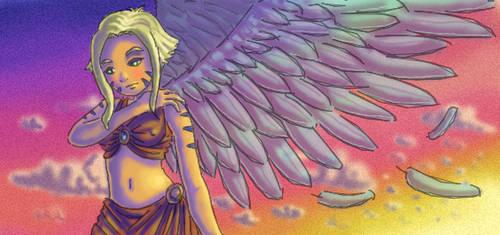 Growing wings by neiba