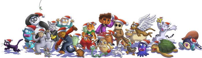 Parade d'avent Noel by neiba