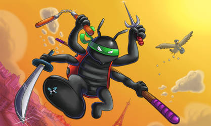 Cocci ninja by neiba
