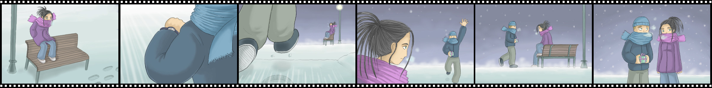Snow movie by neiba