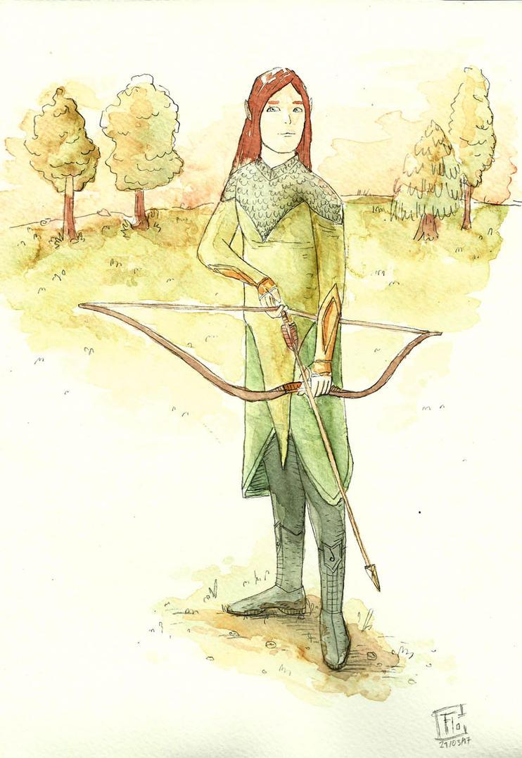 Archer by Inkaeo