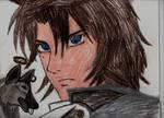 KIBA FROM  WOLF'S RAIN by Bluedragon85