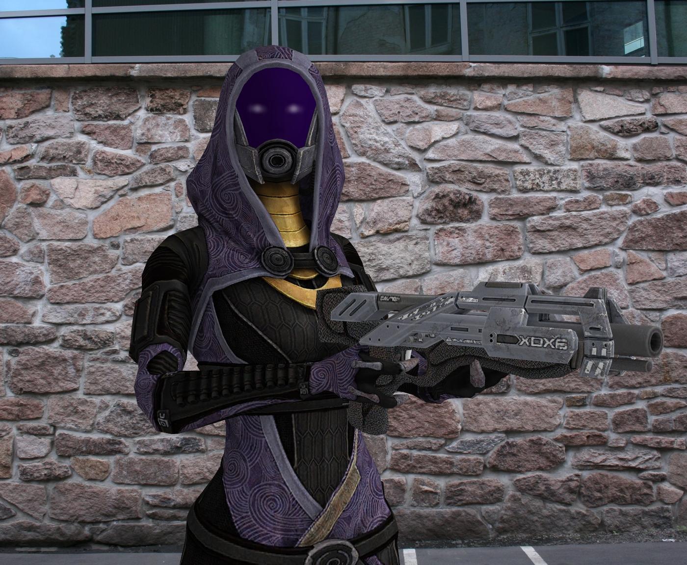 I HAVE A SHOTGUN by Bluedragon85