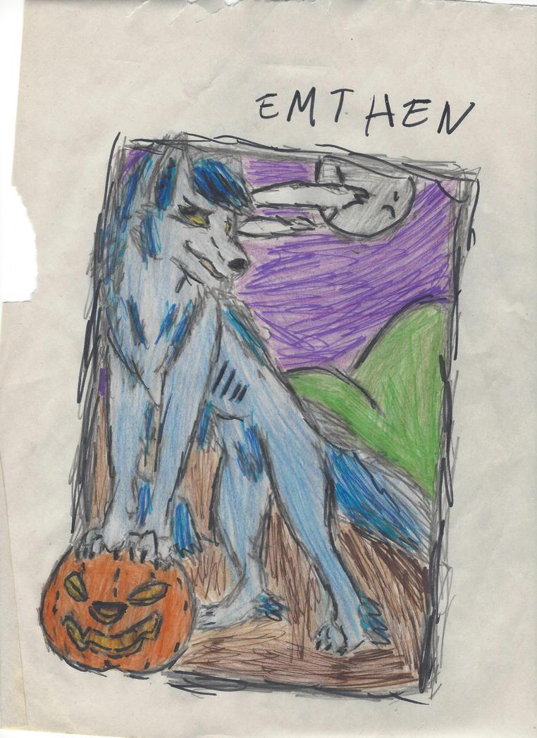 Werewolf by Bluedragon85