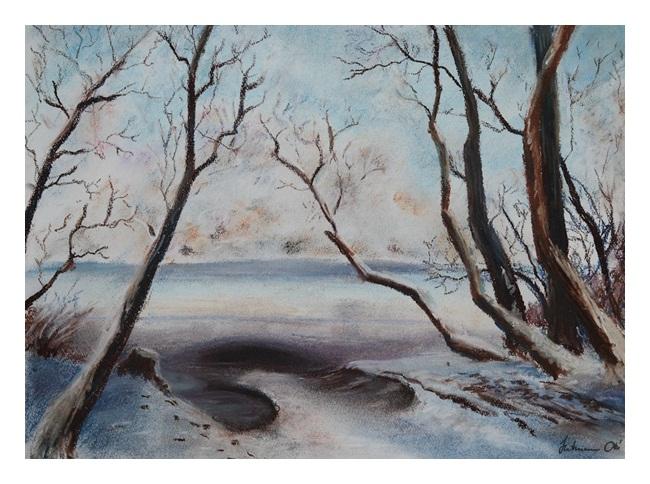 Danube at winter by hartmano