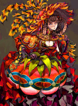 Pumpkin Dress