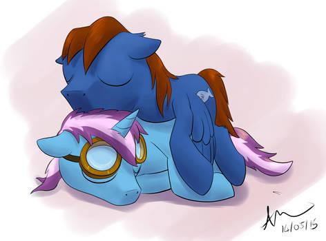 Birthday Cuddles