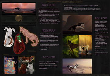 Commission Information - OPEN by onefinalkissx