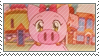 Superpig Stamp by BFWdeco