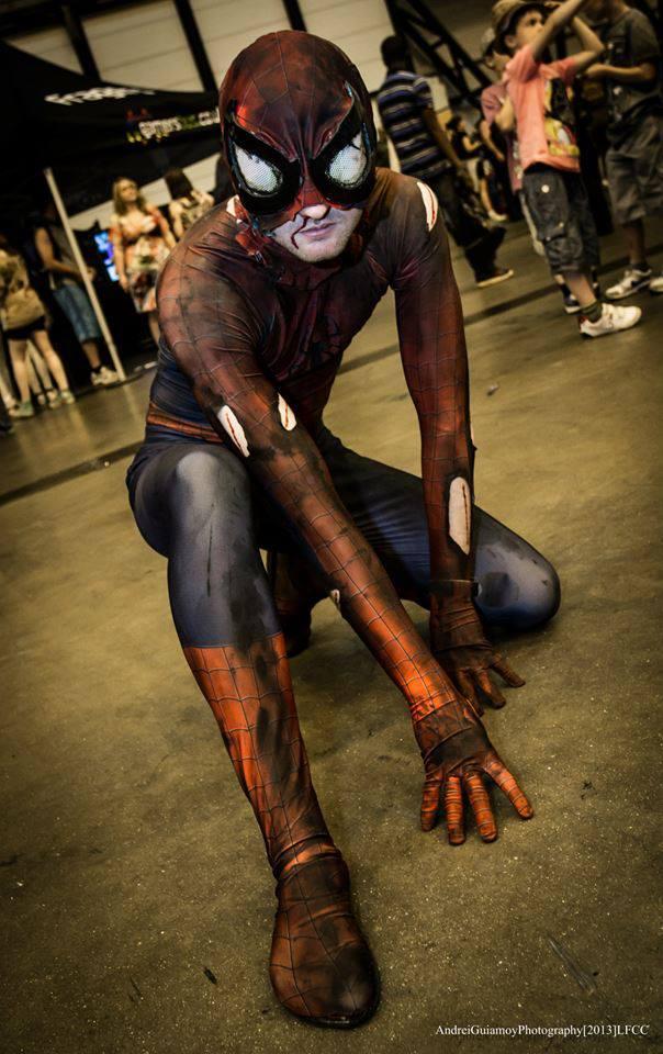 Battle Damaged Spider-Man by Benny2191