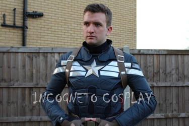 Captain America's Stealth Suit by Benny2191