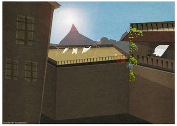 Neighborhood Illustration by mujahed188