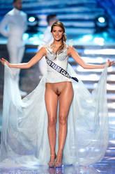 Camille Cerf miss France Nord-pas-de-Calais nude by Artman2627