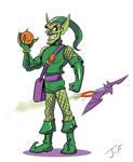 Greener Goblin by jihef03