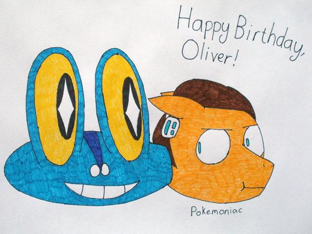 Happy Birthday, Oliver! by Pokemoniac