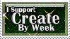 Create by Week Stamp by SafariSyd