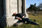 Blonde in the Cemetery - 8