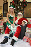 Santa and his Elf Stock by SafariSyd
